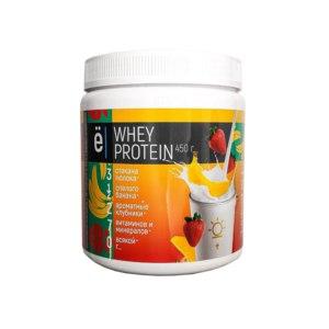 Протеиновый коктейль Ёбатон Whey protein клубника-банан фото