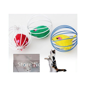 Игрушка для кошек Aliexpress Free Shipping Best Gift Cute Pet Cat Kitten Gift Funny Play Toys Mouse Ball Brand New фото
