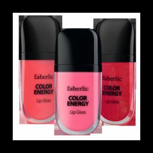 Блеск для губ Faberlic Color Energy Lip Gloss Волна Цвета фото