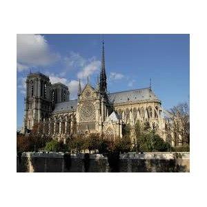 Франция, Париж, Собор Парижской Богоматери фото