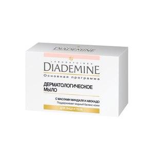 Мыло для лица Diademine  Дерматологическое мыло для лица и тела с маслами миндаля и авокадо фото