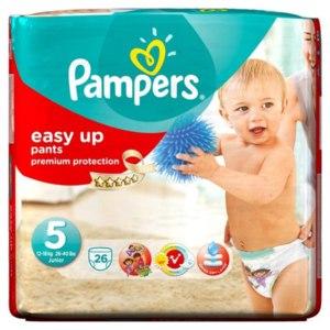 Подгузники-трусики Pampers Easy Up Pants  фото