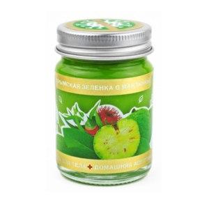 Гель для тела Доктор Крым Крымская зеленка с маклюрой фото