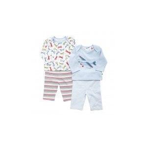 Пижама Mothercare с длинным рукавом и штанишками - 2 шт. в упаковке фото