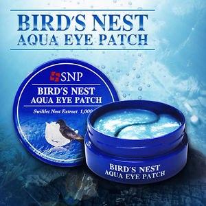 Маска для кожи вокруг глаз SNP Bird's Nest Aqua Eye Patch фото