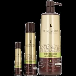 Кондиционер для волос  всех типов питательный Nourishing Moisture Conditioner Macadamia Professional фото