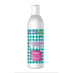 Органик бальзам-маска Indigo Style Гиалуроновая для секущихся, сухих и ломких волос фото