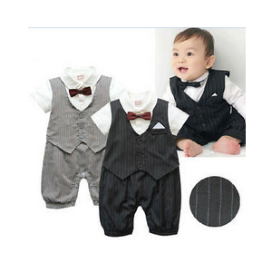 Боди AliExpress Джентльмен Сама Элегантность Baby Boy Clothes Special Christmas Christening Formal Tuxedo Boys Romper Suit фото