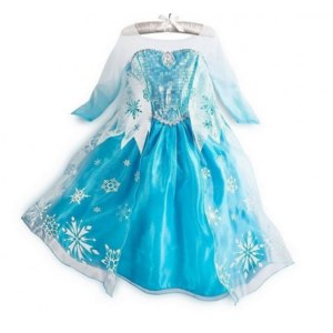 "Платье AliExpress Принцесса Эльза из мультфильма ""Холодное сердце"" Frozen Elsa dress Girl Princess Dress Summer longsleeve diamond dress Elsa Costume, many designs in our store фото"