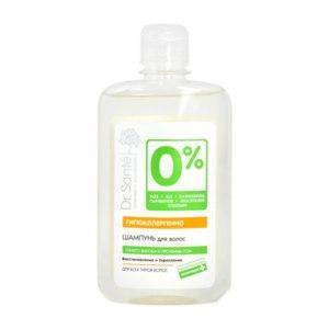 Шампунь Dr.Sante 0%  Восстановление и Укрепление Для всех типов волос Гипоаллергенно фото