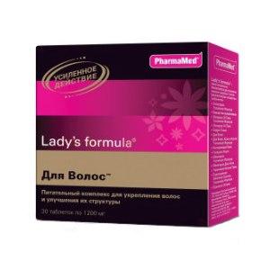 Витамины ледис формула для волос состав