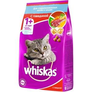 Корм для кошек Whiskas 7+ фото