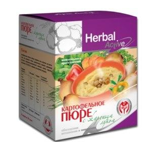 Картофельное пюре Herbal Active (Арт Лайф) с жареным луком фото