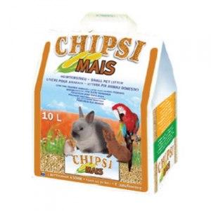 Кукурузный наполнитель для грызунов  Chipsi Mais Citrus фото