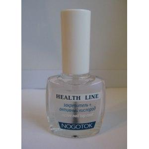 Лак для ногтей Ноготок Nogotok Лечебная линия Закрепитель+активный кислород фото