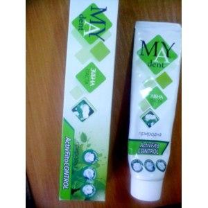 Зубная паста MAY rent Природная ActivFito Control фото