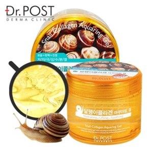 Гель для лица и тела Dr. Post Snail collagen aquaring gel фото