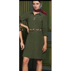 feefd01eb12f3a6 Платье-рубашка Faberlic 126W4104 - «Платье-рубашка прямого силуэта ...
