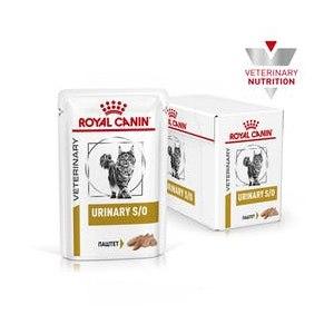 Корм для кошек Royal Canin Urinarу S/O (паштет) консервированный полнорационный диетический  фото