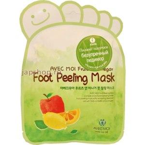 """Пилинг - носочки 4SKIN  AVEC MOI Foot Peeling Mask """"Fruit & Vinegar""""-  Безупречный педикюр. фото"""