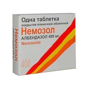 Противогельминтное средство широкого спектра действия  Ipca Альбендазол (Немозол) фото
