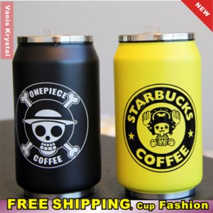 Термокружка AliExpress 2014 New Creative Pop Can Pattern Thermos Cup Thermo Drinkware Termo Water Bottle Flask Termos Vacuum Thermal Cups Free Shipping фото