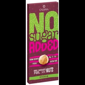 Шоколад Озерский сувенир Горький O'Zera No sugar added Dark&Nuts фото