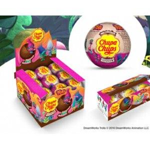 "Шоколадное яйцо с сюрпризом Chupa Chups Шоколадный шар сюрпризом ""Trolls"" фото"