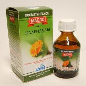 Масло косметическое Аспера календулы с витаминно-антиоксидантным комплексом  фото
