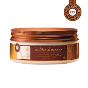 Бальзам для тела Ив Роше / Yves Rocher Восточный питательный Традиции хаммама (с арганией и эфирным маслом флердоранжа)  фото
