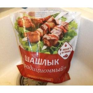 Шашлык Полуфабрикат мясной, мелкокусковой охлажденный Традиционный фото