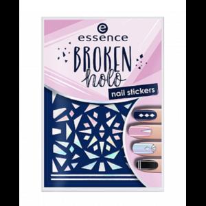 Наклейки для ногтей Essence BROKEN HOLO nail stickers фото