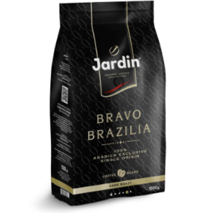 Кофе в зёрнах Jardin Bravo Brazilia фото