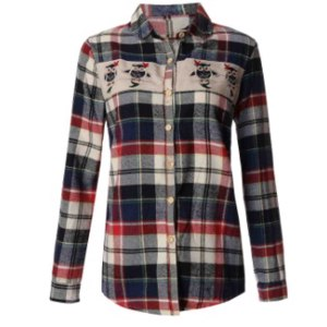 Рубашка женская AliExpress Fashion Plaid Shirts 2016 Spring Autumn European Style Women Blouses Tops Ladies Casual Long Sleeve Owl Printed Shirts Blusas фото
