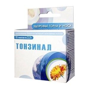 Лекарственный препарат Салута-М Тонзинал фото