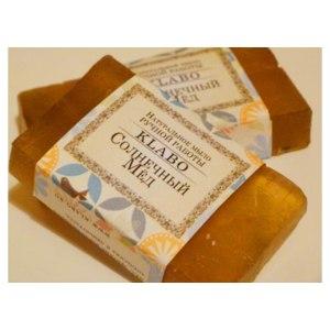 Натуральное мыло Klabo с солнечным медом фото