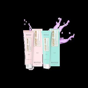 Крем-краска для волос Bouticle Перманентный крем-краситель для волос expert color с маслом макадамии и гидролизованными протеинами шелка фото