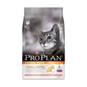 Корм Pro Plan Derma Plus для кошек с чувствительной кожей со вкусом лосося фото