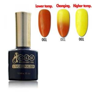 Гель-лак для ногтей Color 1000 Temperature Change Gel Polish фото