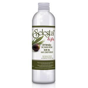 Кондиционер для волос Selesta Life с оливковым маслом и витамином Е фото