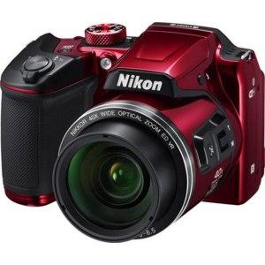 Nikon Цифровой фотоаппарат  Coolpix B500 Red фото