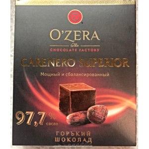 Горький шоколад O'Zera CARENERO SUPERIOR 97,7% cacao фото