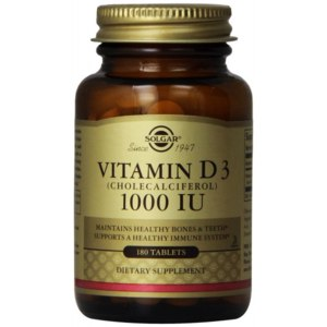 БАД Solgar Vitamin D3 1000 IU фото