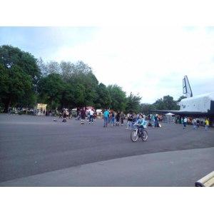 Прокат велосипедов в Парке Горького, Москва фото