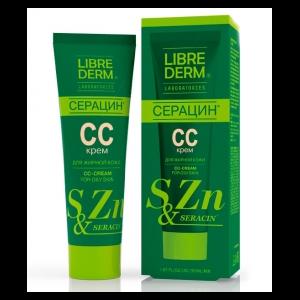 CC Cream Librederm для жирной кожи Серацин фото