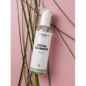 Гель для умывания Spongilla Beauty Facial cleanser clear up фото