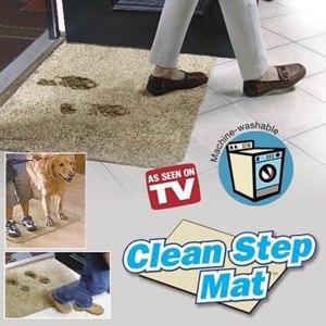 Clean step mat супервпитывающий придверный коврик фото