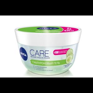 Гель для лица NIVEA Care Гиалуроновый с гиалуроновой кислотой и огурцом фото