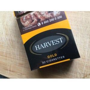 Сигареты Harvest Gold фото