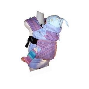 Эргономичный рюкзак Гусленок серия Комфорт с дополнительной поддержкой спинки малыша фото